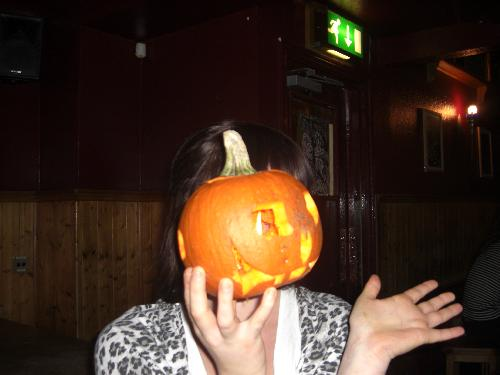 More of pumpkin head lori!